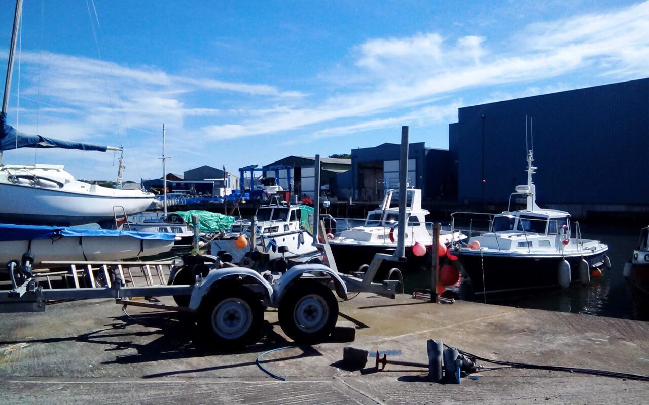 sams boatyard plymouth